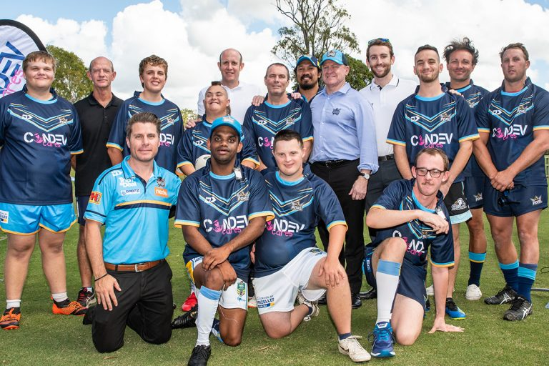 Official Social Inclusion Partner of the Gold Coast Titans PDRL team